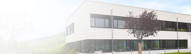 Das Schulgebäude des bzg in Bensheim